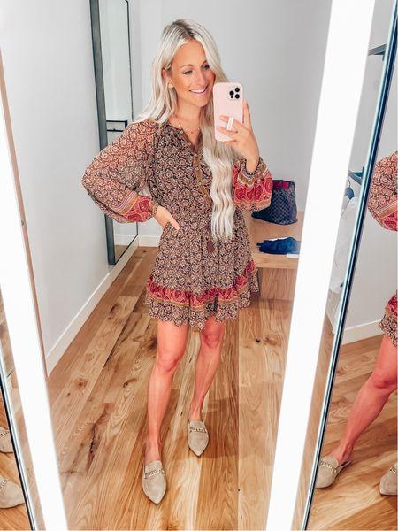 Dress // Small Mules // Size up .5  #LTKshoecrush #LTKstyletip #LTKunder100