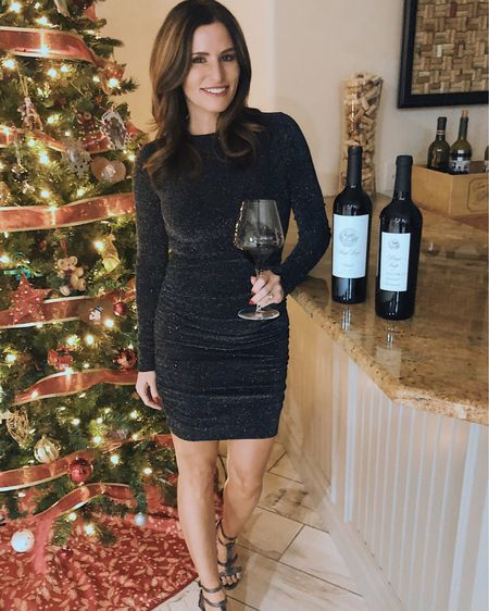 Holiday parties in full swing!🎄Starting off the night with a Cabernet from @stagsleapwinery, a favorite through and through. What wine gets you in the holiday mood??🍷#cheerstoyou #christmasspirits #cabernets #stagsleapwinery #nordstrom ➰  http://liketk.it/2yQOW #liketkit @liketoknow.it #LTKholidaystyle #LTKunder100 Download the LIKEtoKNOW.it app to shop this pic via screenshot