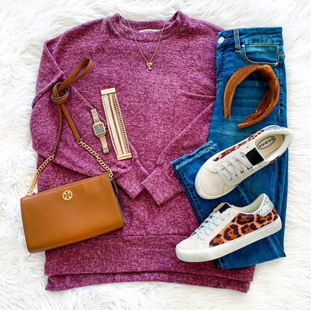 Last chance to enter our Tory Burch giveaway! Just see our IG post from last night for how to enter! It's so easy! ☺️ Also, ICYMI our huge under $40 try on session it's all saved on our IG highlights and still on our stories too! This gorgeous cozy fleece top is included and these under $35 sneakers just restocked too! 🛍 Shop it all via the LTK app or head to TheDoubleTakeGirls.com   #LTKunder50 #LTKshoecrush #LTKstyletip