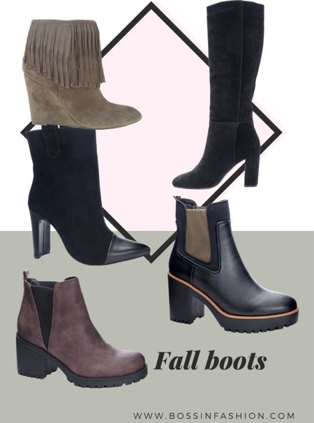Shop some of my favorite fall boots ankle boots to high boots. I love suede and I love anything that has a little bit of attitude during fall season with shoes. #ankleboot #suedeboots #ankldboots #blackboots #fallboots  #LTKshoecrush #LTKstyletip #LTKSeasonal