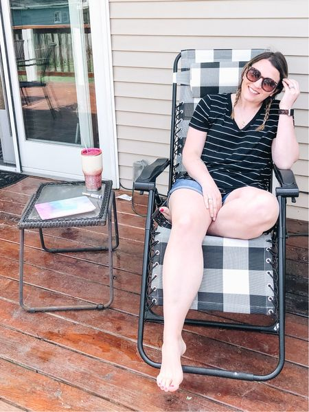 If you're looking for me, I'll be in this chair on the deck either on pool duty or escaping the noise from the house! It's my new favorite place!   http://liketk.it/2O6xm #liketkit @liketoknow.it #StayHomeWithLTK #LTKhome #LTKspring