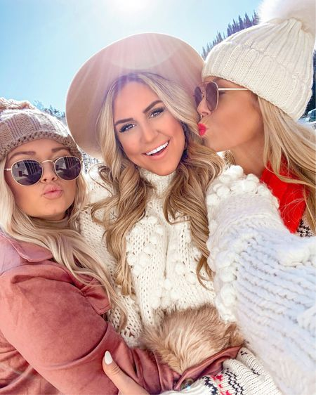 All the love for these babes! ❤️ Pretty much are just eating our way through Deer Valley and we are 100% here for it! See our stories for the incredible brunch we just had this morning! 🥞☕️🥐🙌🏻 Also my heart Pom Pom sweater is currently 30% off! Sharing all the details through the #LTKunder100 #LTKunder50 #LTKtravel #LTKsalealert #LTKbeauty #LTKstyletip @ @liketoknow.it app! #liketkit http://liketk.it/2GFzk