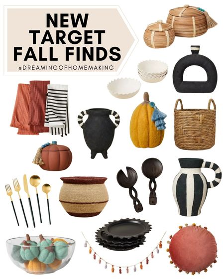 New Target Fall Finds!!  Dreaming of Homemaking | #DreamingofHomemaking   #LTKunder50 #LTKunder100 #LTKhome