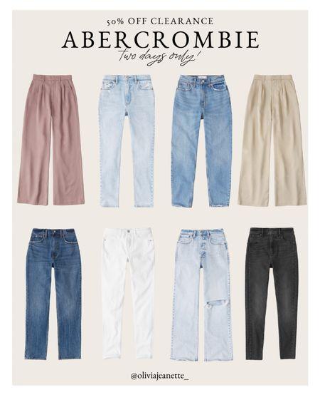 Abercrombie & Fitch clearance 2 days only!!   #LTKunder50 #LTKunder100 #LTKsalealert