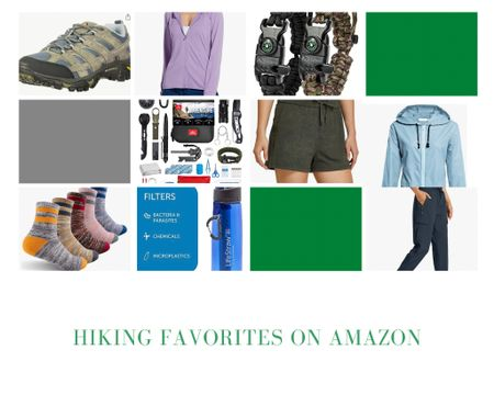 Affordable hiking gear from Amazon, including comfortable clothing, my favorite hiking shoes and two great survival kit options! The survival bracelet is straight out of Inspector Gadget! #LTKunder50 #LTKtravel #LTKfit http://liketk.it/3hLNH #liketkit @liketoknow.it