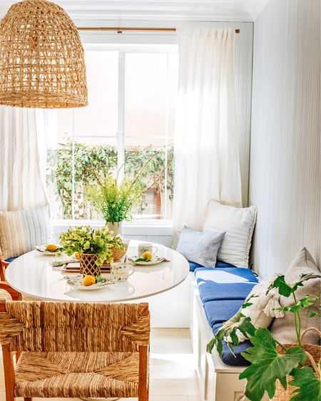 Freshen up your spring diningscape with the cutest and most inviting dinnerware, pillows, dining table and chairs, http://liketk.it/3fu1a #liketkit @liketoknow.it #LTKhome #LTKfamily #LTKstyletip @liketoknow.it.home and more!