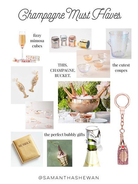 Champagne accessories 🥂✨🍾 http://liketk.it/335my #liketkit @liketoknow.it #LTKgiftspo #StayHomeWithLTK #LTKwedding champagne glasses, bar accessories, gift idea, bachelorette gift, bridal shower gift