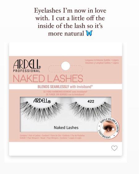 Eyelashes I love! So natural and light @liketoknow.it #liketkit http://liketk.it/3hrTL #LTKbeauty