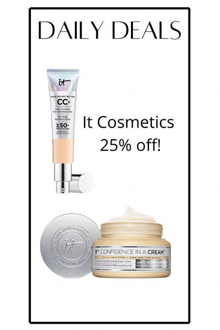 It cosmetics on sale 25% off sitewide!   #LTKbeauty #LTKsalealert #LTKunder50