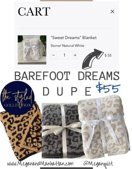 The coziest barefoot sweet dreams blanket   #LTKunder100 #LTKDay #LTKhome