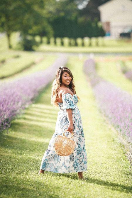 off the shoulder dress, shein haul, floral maxi dress, affordable style, floral dress, wedding guest dress   #LTKunder50 #LTKstyletip #LTKunder100