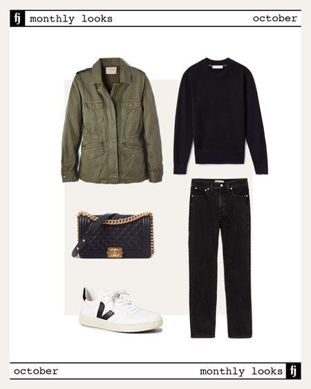 October fall outfit idea #falloutfits  #LTKstyletip #LTKunder100 #LTKunder50