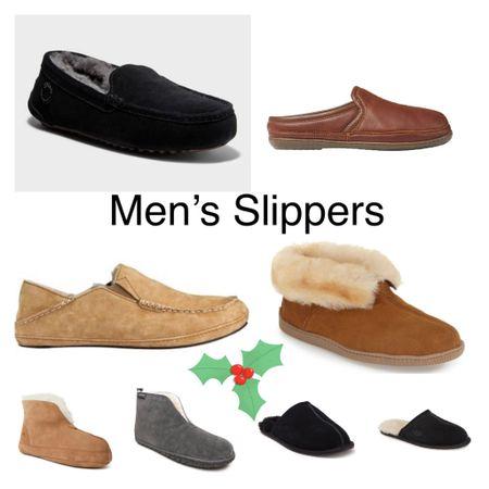 Men's slippers/house shoes   #LTKSeasonal #LTKmens #LTKGiftGuide