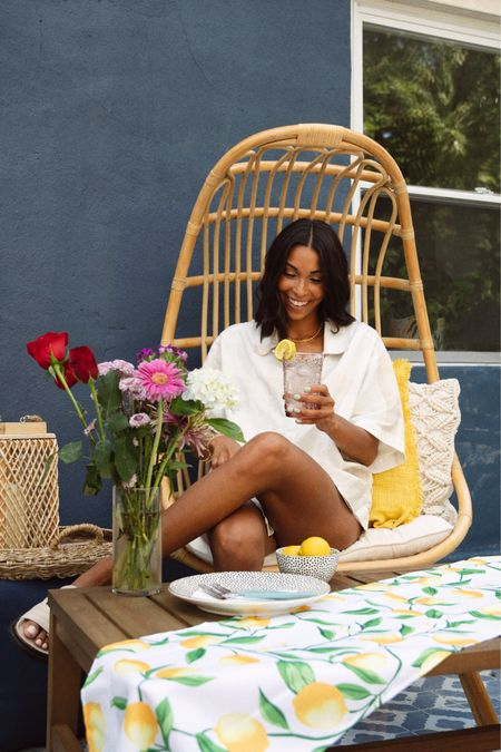 Creating my own escape with @walmart home this summer! Shop my bright and fun tabletop and patio must-haves with a screenshot of this pic via the LIKEtoKNOW.it shopping app #ad✨ http://liketk.it/3iMl8 #liketkit @liketoknow.it #LTKunder50 #LTKhome #LTKunder100
