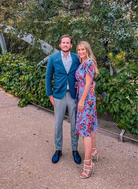 His and hers wedding guest style   #LTKunder50 #LTKwedding #LTKsalealert