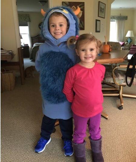 Monster, Inc Halloween costume for kids  #justpostedblog   Amazon  Kids costumes  Halloween   #LTKHoliday #LTKkids #LTKunder50