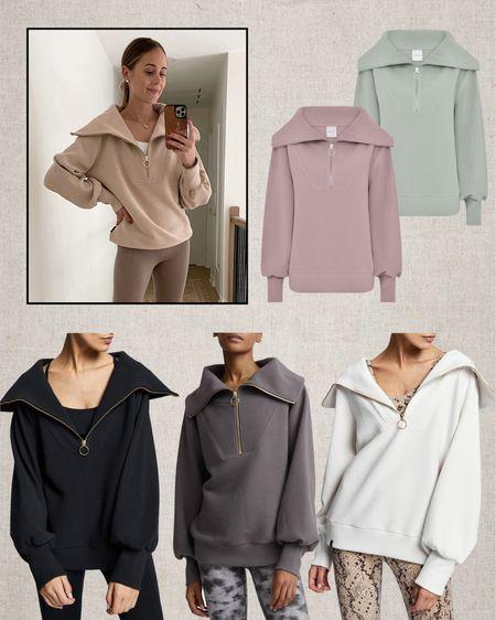 Love my Varley sweatshirt! Lots of colors here #sweatshirt   #LTKfit #LTKstyletip