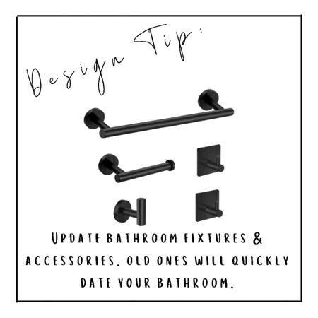 Bathroom fixtures are an easy way to upgrade your space!   #LTKhome #LTKunder50