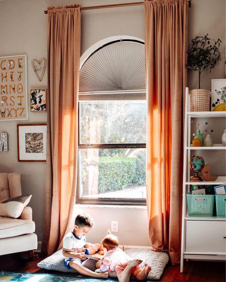 These curtain really completed Madeline's room! I always felt like it needed something and these were it!   Want them? http://liketk.it/2VrW6 #liketkit @liketoknow.it #LTKhome #LTKkids @liketoknow.it.home   #babynursery #girlnursery #girlroom #girldecor #biggirlroom #homedecor #bhghome #kidsdecor #amazonhome