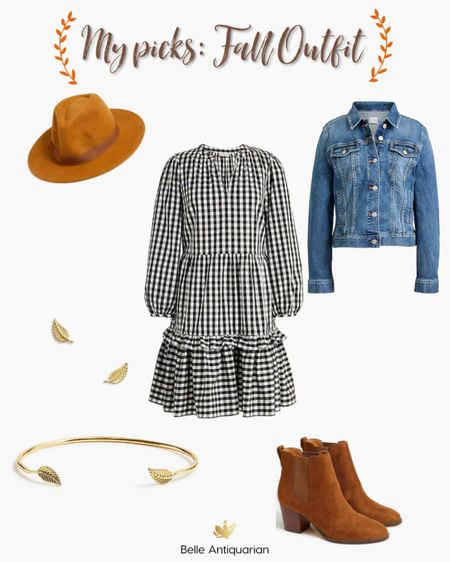 Ready for fall in this adorable dress! I just ordered it and can't wait to show you.  #LTKstyletip #LTKunder100 #LTKworkwear