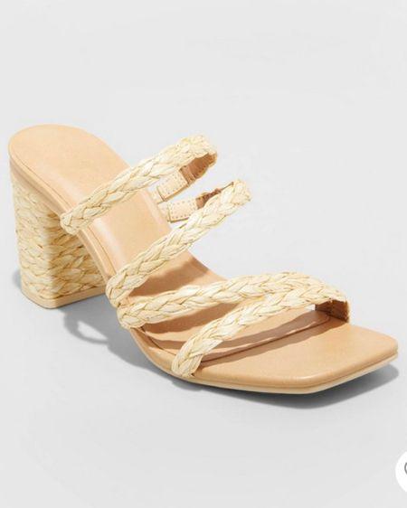 Woven Sandal Heels   http://liketk.it/3hZrn    #liketkit @liketoknow.it