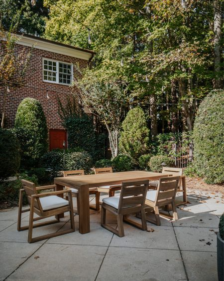 Outdoor Furniture, Outdoor Dining Table, Arhaus, Exterior  #LTKhome