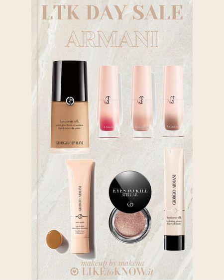 http://liketk.it/3hsFr #liketkit @liketoknow.it #LTKbeauty #LTKunder100  Save 25% off on Armani Beauty during this weekend's LTK DAY Sale.