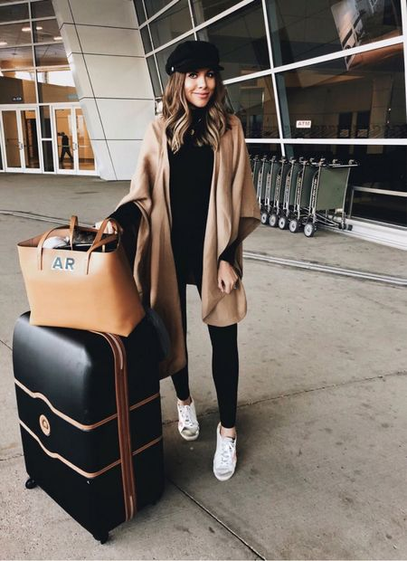 airport outfit #airport #traveloutfit  #LTKstyletip #LTKtravel