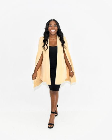 This cape jacket is from Forever 21. You'll love the color and fit. http://liketk.it/33WaM @liketoknow.it #liketkit