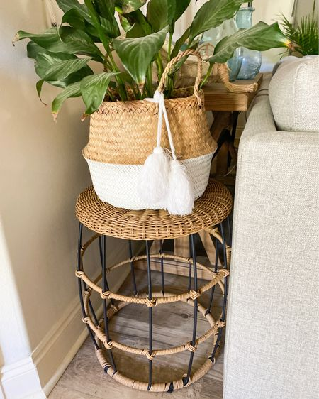 One of my fave ways to display indoor plants is in decorative baskets!! Linking a few of my faves!! http://liketk.it/36soy #liketkit @liketoknow.it