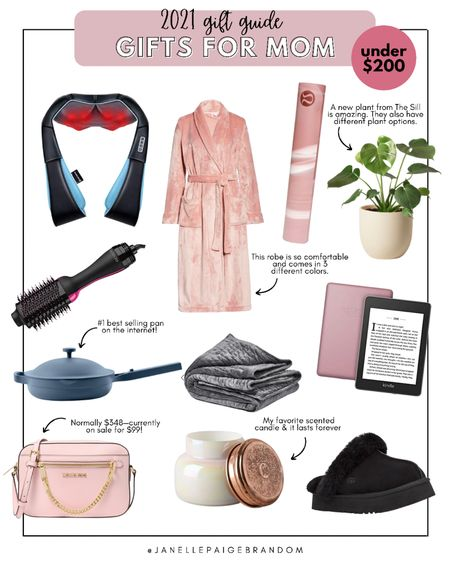Gift guide for mom that won't break the bank! Some of these items I own and love. Holiday gifts under $200. Also great items for her, gf, sister, etc    #LTKGiftGuide #LTKSeasonal #LTKHoliday