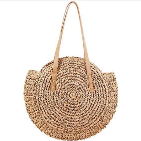 Straw bag!! Less than $30! Click here to shop!! http://liketk.it/3ifjb #liketkit @liketoknow.it #LTKunder50 #LTKunder100