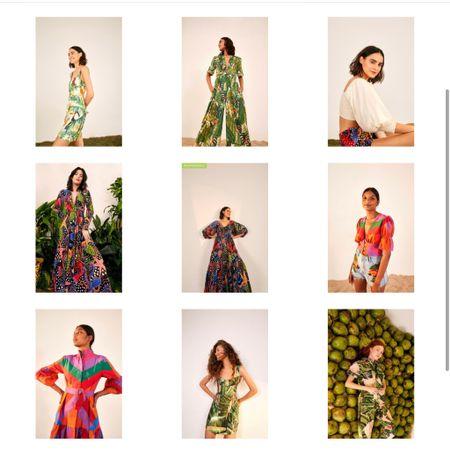 Use code SALE25 to get extra 25% off FarmRio clothing already up to 30% off Summer outfits Vacation outfits Summer prints Summer dress Mini dress Tropical prints Jumpsuit Puff sleeved top Midi dress Maxi dress   http://liketk.it/3j0Qc  #liketkit @liketoknow.it #LTKunder100 #LTKtravel #LTKsalealert