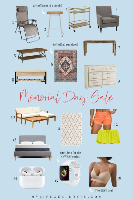 Memorial Day Sale // Rounding up the best sales on outdoor patio furniture, home decors, electronics, and summer clothing! Up to 80% off selected items! http://liketk.it/3g7pO #liketkit @liketoknow.it #LTKsalealert #LTKhome