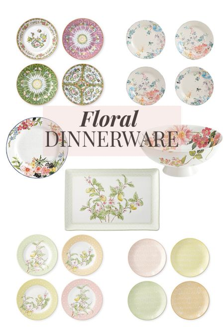 Floral Dinnerware 💐🌸🌷 Set the table for Spring with these beautiful dishes! http://liketk.it/3cnxV #liketkit @liketoknow.it #springflorals #floraldinnerware #dinnerware #anthro #williamssonoma #LTKunder50 #LTKhome Screenshot this pic to get shoppable product details with the LIKEtoKNOW.it shopping app