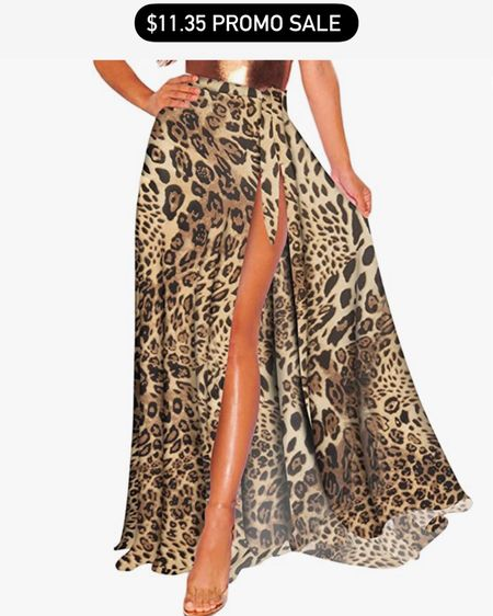 Beach vacation fashion / style / skirt cover up / wrap / bathing suit http://liketk.it/3fKzM #liketkit @liketoknow.it #LTKsalealert #LTKunder50 #LTKstyletip