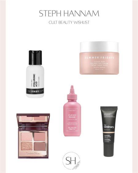 Cult Beauty Wishlist http://liketk.it/36Vtv skincare, make-up, hair care @liketoknow.it #liketkit #LTKbeauty #LTKunder50