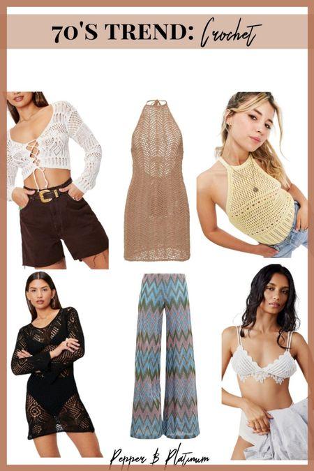 The best crochet pieces for that 70s vibe! @liketoknow.it #liketkit #LTKSpringSale #LTKunder50 #LTKunder100 #LTKsalealert #LTKstyletip #LTKwedding http://liketk.it/3eHkg