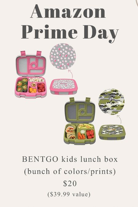 Amazon prime day - kids bentgo lunch boxes    #LTKunder50 #LTKkids #LTKsalealert