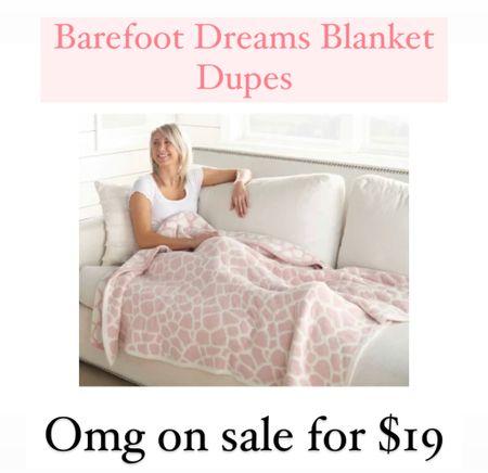 Barefoot dreams blanket sale   #LTKunder50 #LTKhome #LTKSeasonal