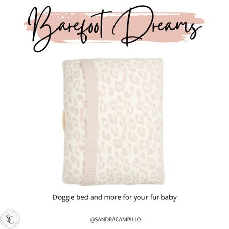 I am in love with this cute doggie bed from Barefoot Dreams.  It's super cute!   #Nordstromsale #dogbed #dogtoys #dogsweater #dogbandana  #LTKunder50 #LTKsalealert #LTKunder100