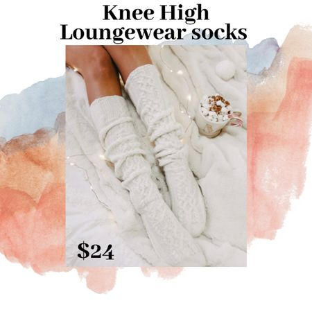 Love these knee high loungewear socks for under $25!! Super comfy and cute with a lounge outfit or jeans and a sweater and knee high boots!!! ❤️❤️ http://liketk.it/337ec #LTKgiftspo #LTKsalealert #LTKitbag Shop my daily looks by following me on the LIKEtoKNOW.it shopping app #liketkit @liketoknow.it