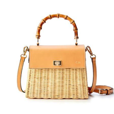 The prettiest wicker summer bag! It's on sale and also comes in navy. . . . Handbag, wicker bag, wicker purse, crossbody bag, cross body bag, purse, summer bag, basket bag, neutral purse, navy purse, on sale, under 150 #LTKstyletip #LTKsalealert #liketkit @liketoknow.it http://liketk.it/3kl2g