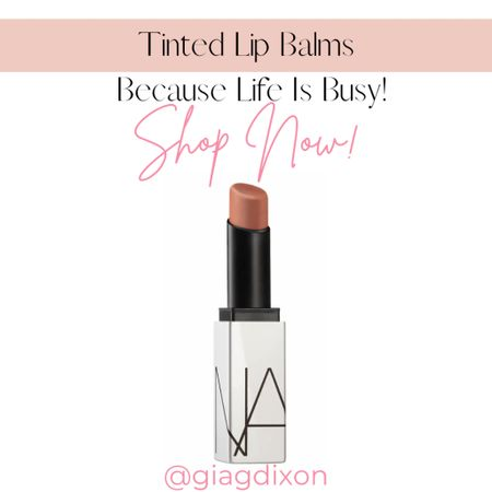 Tinted lip balms you can't go wrong with because life gets busy.  #LTKbeauty #LTKstyletip #LTKtravel