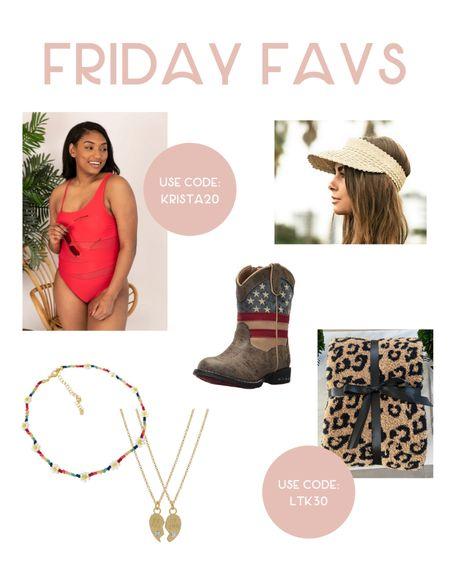 All of this week's favs! 💕 http://liketk.it/3hSUu #liketkit @liketoknow.it #LTKswim #amazonfashion #necklace #jewelry