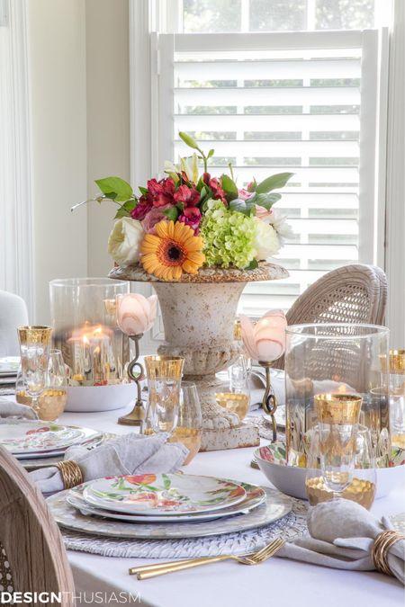 http://liketk.it/3jPpH #liketkit @liketoknow.it #LTKfamily #LTKhome #LTKstyletip informal dinning table settings on a budget!