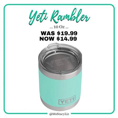 YETI tumbler on sale! http://liketk.it/36zy5 #liketkit @liketoknow.it #yeti #giftidea #sale