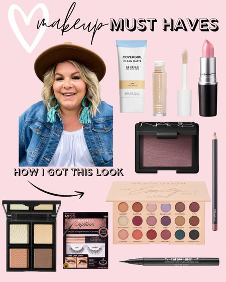 I've gotten a lot of questions about this fall makeup look and it's mostly my drugstore makeup and beauty favorites! Shop everything I use for my everyday makeup look for looking good in pictures!   #LTKunder50 #LTKcurves #LTKbeauty