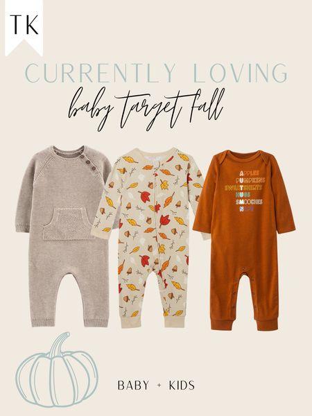 Target Fall Baby Clothes   #LTKbaby #LTKSeasonal #LTKbump