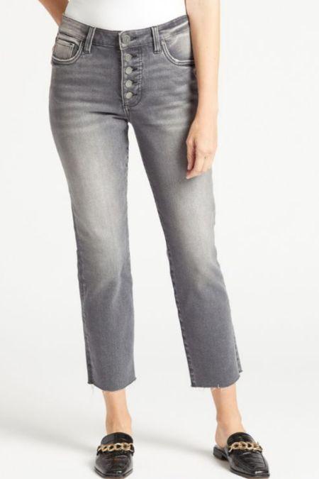 Kut From the Kloth Ankle Straight Jeans  #LTKstyletip #LTKtravel #LTKunder100